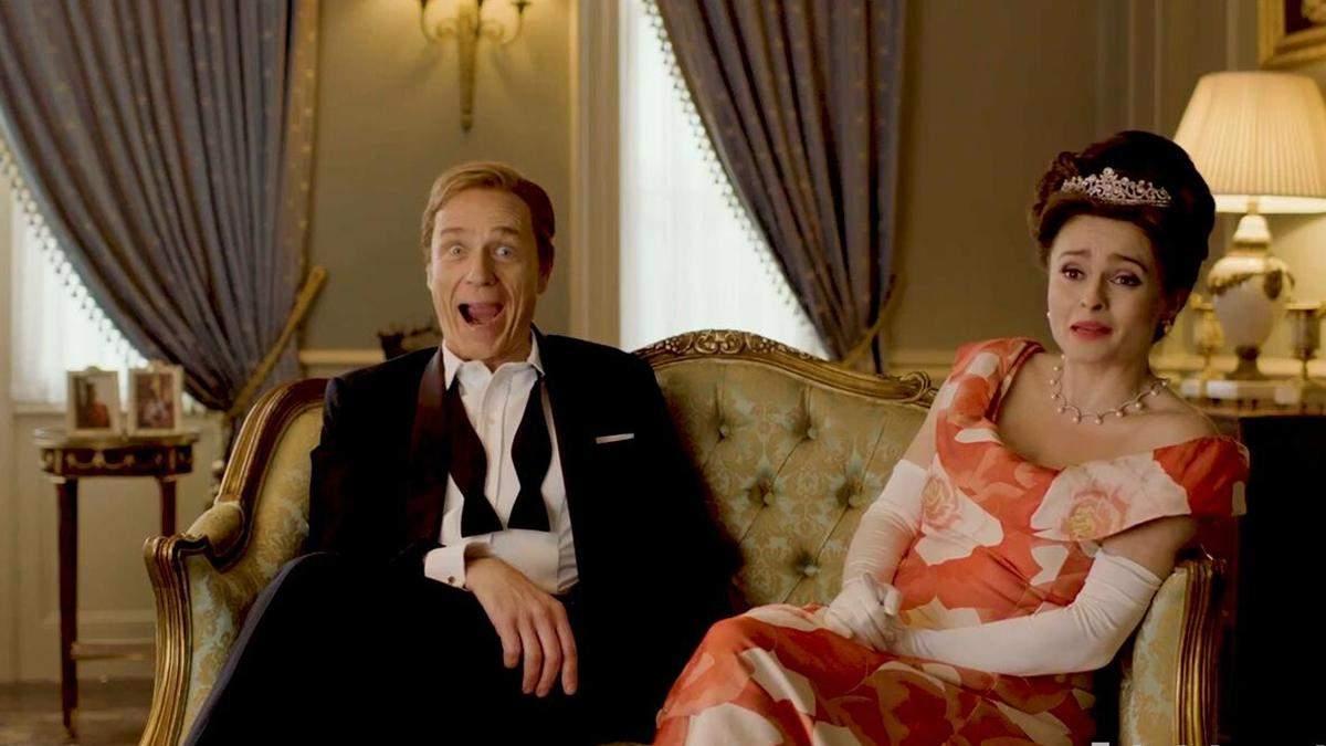Смешные фото со съемок Короны 4 сезон