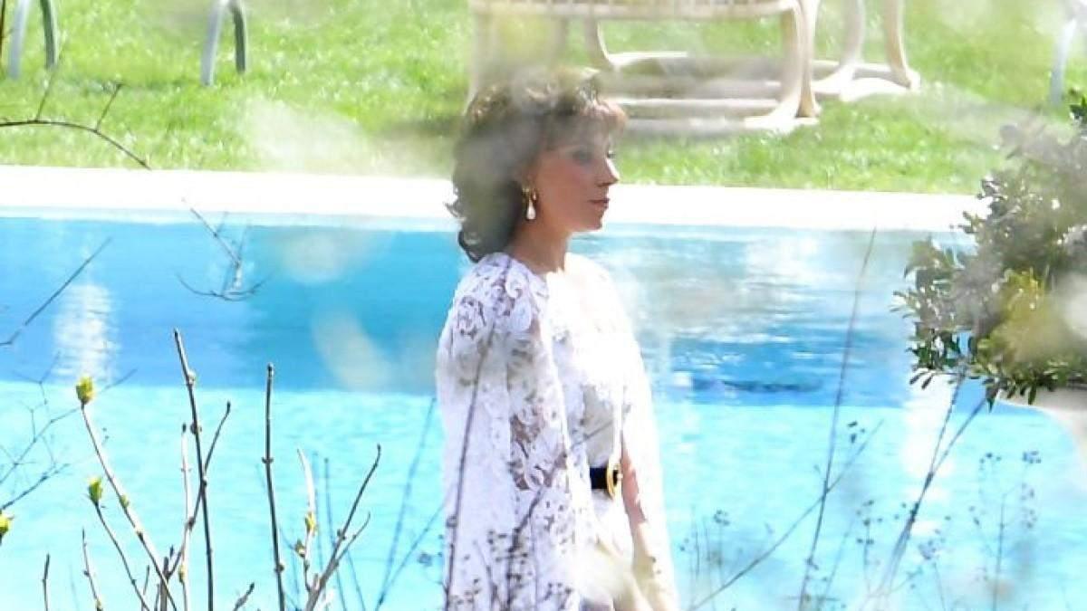 Леді Гага на зйомках фільму Будинок Гуччі