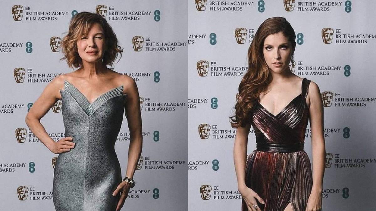 Червона доріжка премії BAFTA 2021: ефектні фото