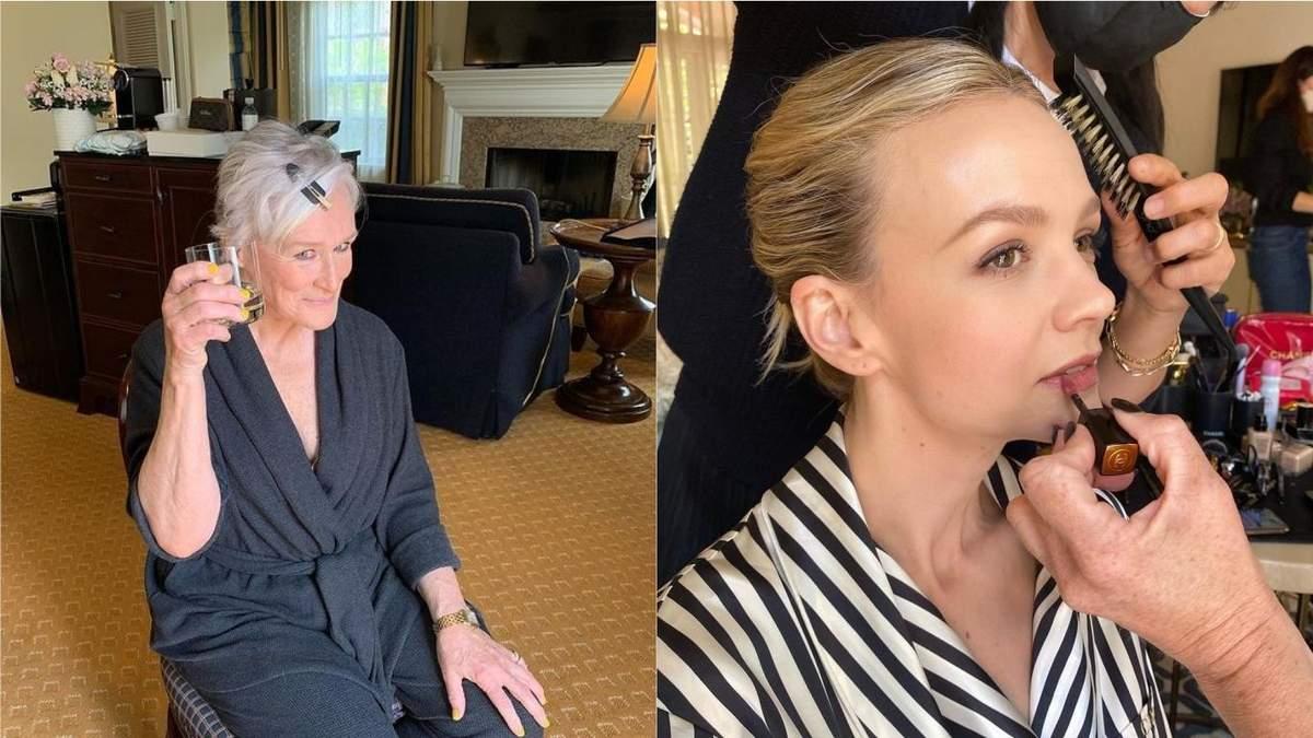 Фото и видео актрис перед церемонией Оскар 2021