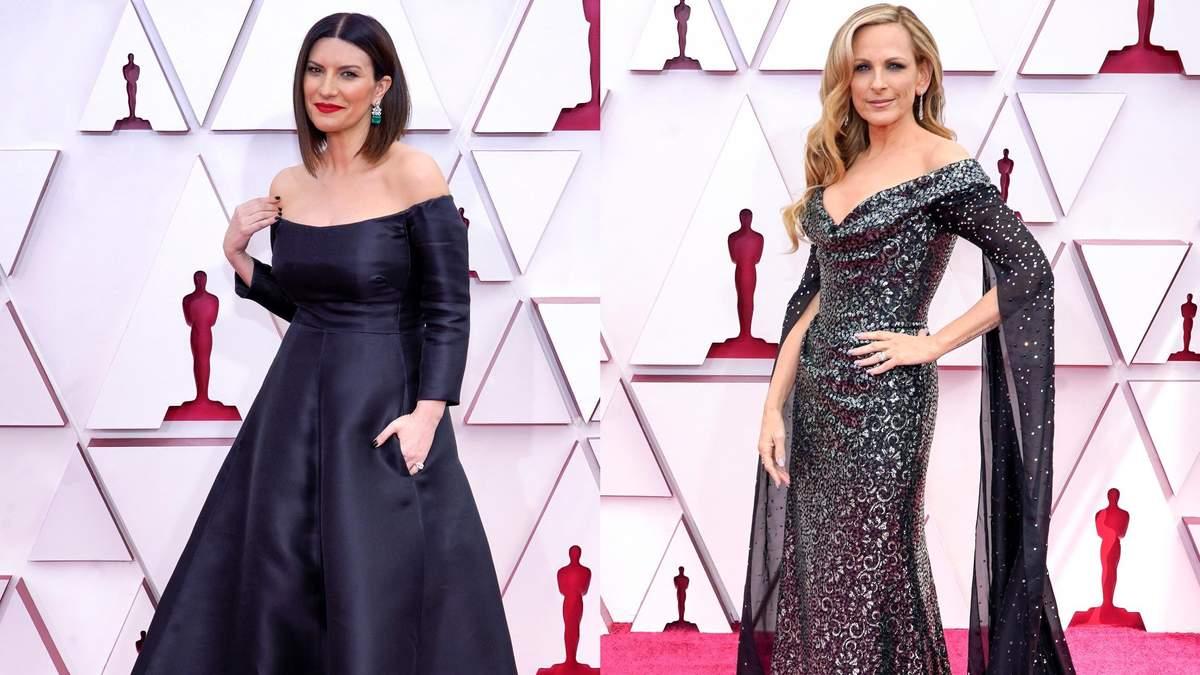 Елегантні та розкішні: знаменитості у чорних сукнях на Оскарі-2021