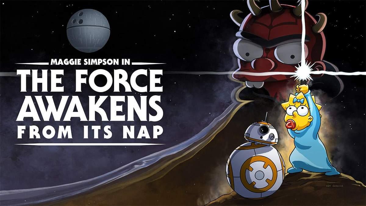 Disney+  презентував пародію Сімпсонів за мотивами Зоряних війн