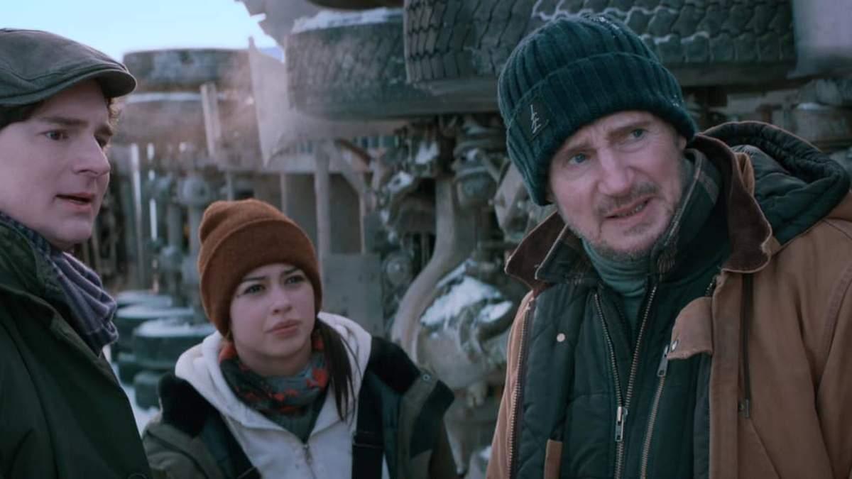 Льодовий дрифт: перші кадри нового екшена з Ліамом Нісоном та Лоуренсом Фішборном