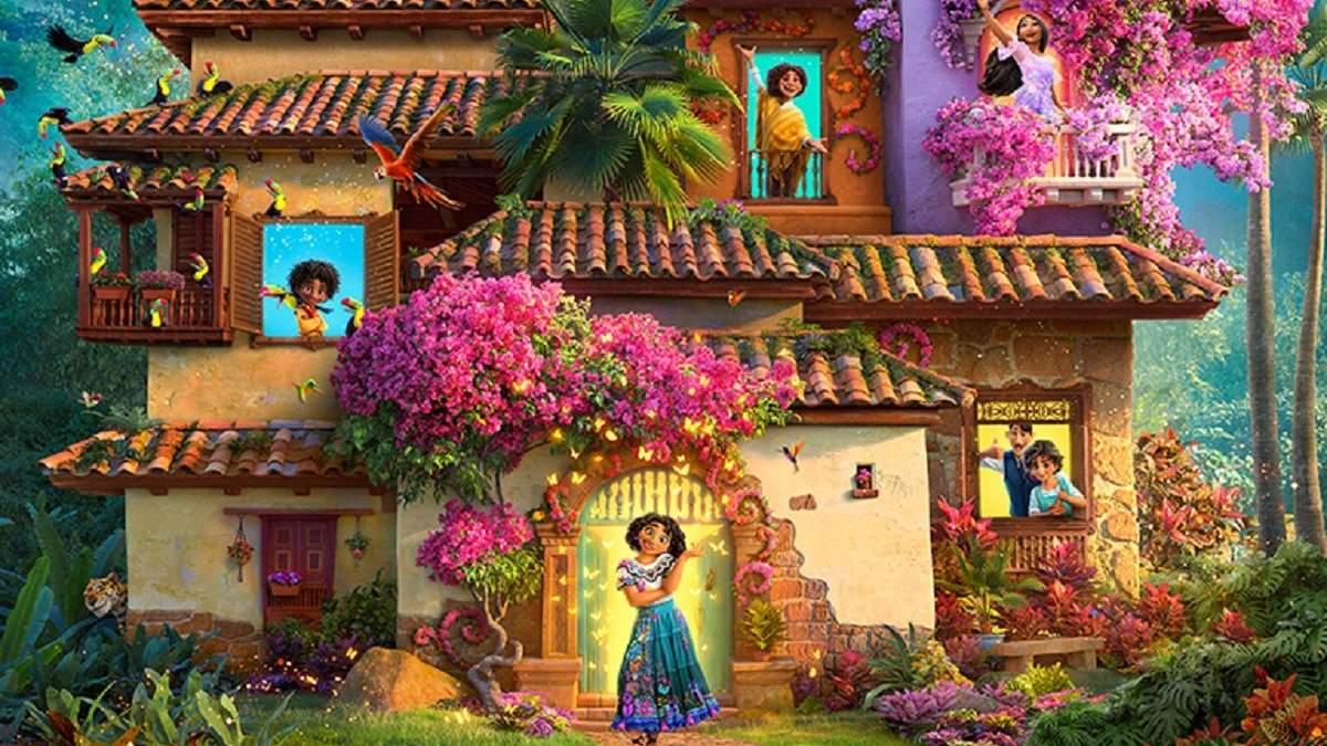 Disney показал яркий тизер мультфильма Энканто Мир магии