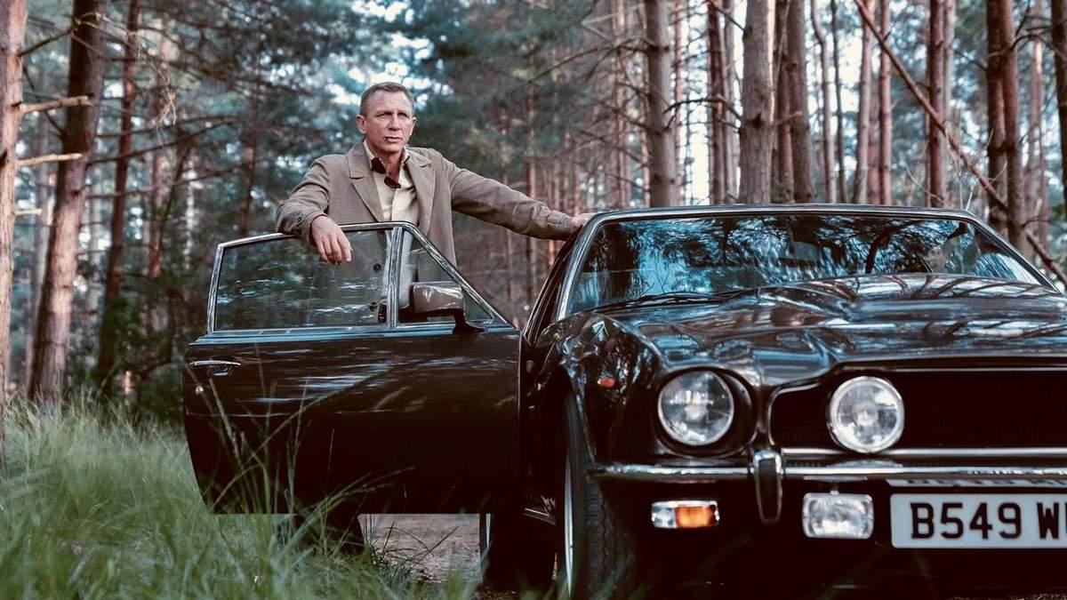Денієл Крейґ  в ролі Джеймса Бонда у фільмі 007: Не час помирати 2021