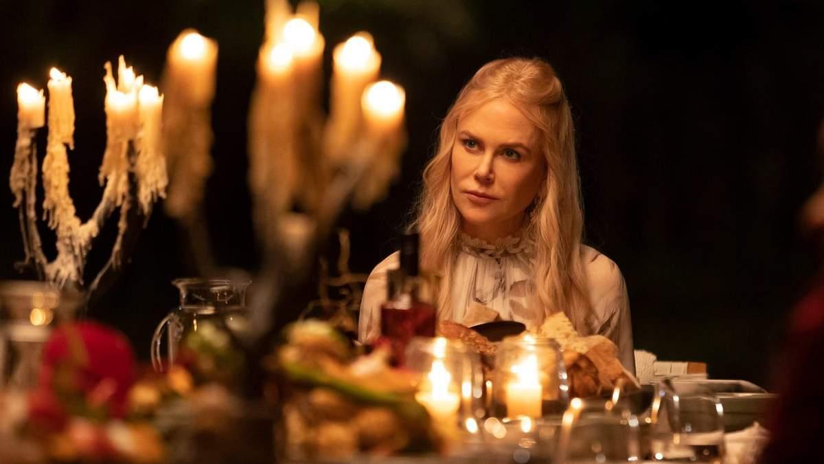 Николь Кидман в сериале Девять совершенно незнакомых людей 2021