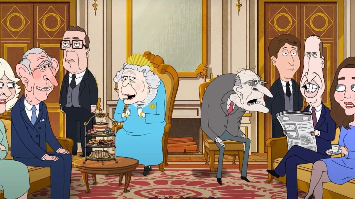 Життя королівської родини у серіалі Принц