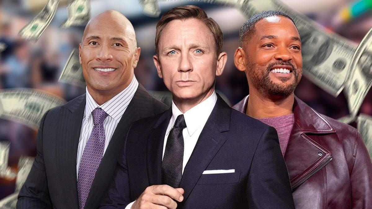 Від Денієла Крейґа до Тома Круза: гонорари акторів Голлівуду  у 2021 році - Кіно