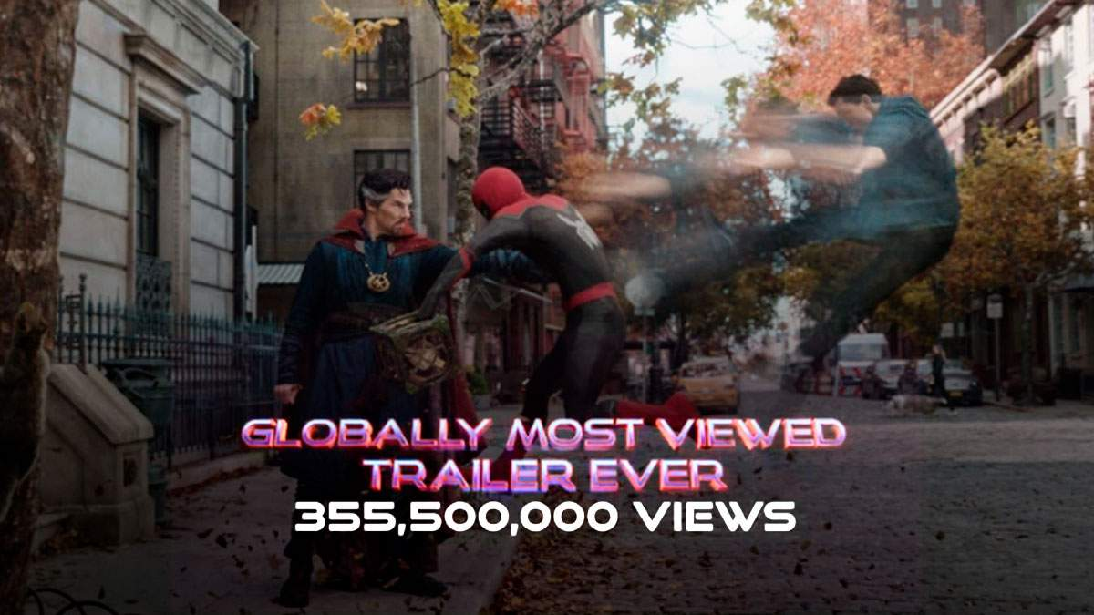 """Трейлер """"Людини-павука: Немає шляху додому"""" встановив рекорд за переглядами у всьому світі - Кіно"""