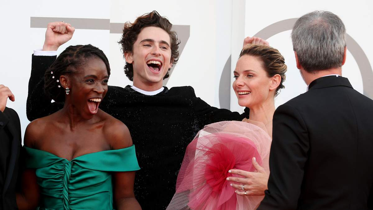 Актори Дюни на червоному килимі Венеційського кінофестивалю 2021