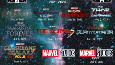 Студія Marvel розсекретила дати прем'єр своїх повнометражних проєктів до 2024 року