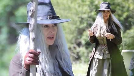 Моника Беллуччи кардинально изменились для съемок фильма о ведьме: фото