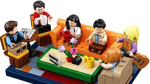 """Lego випустить конструктор за мотивами серіалу """"Друзі"""": веселе відео"""