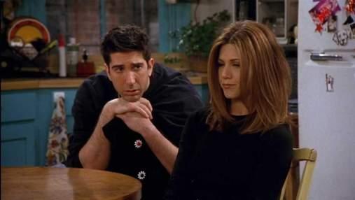 """Зірка серіалу """"Друзі"""" розкрив цікаву деталь стосунків Рейчел та Роса"""