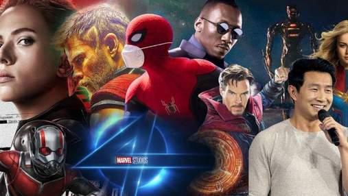 Четверта фаза кіновсесвіту Marvel: список усіх фільмів із датою прем'єри