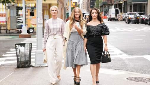 """Сеть поразил официальный кадр перезапуска """"Секса в большом городе"""" с Керри, Мирандой и Шарлоттой"""