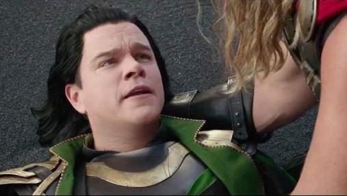 """Метт Деймон повернеться до ролі фальшивого Локі у фільмі """"Тор: Кохання та грім"""""""