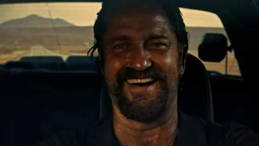 """Джерард Батлер в роли убийцы в трейлере комедийного боевика """"Хороший, плохой, коп"""""""
