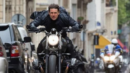 Найнебезпечніший трюк у кар'єрі Тома Круза показали на CinemaCon: відео зйомок