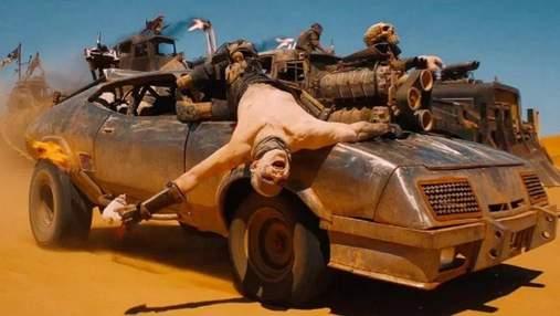 """Авто з фільму """"Божевільний Макс: Дорога гніву"""" виставлені на аукціон: початкова вартість 1 долар"""