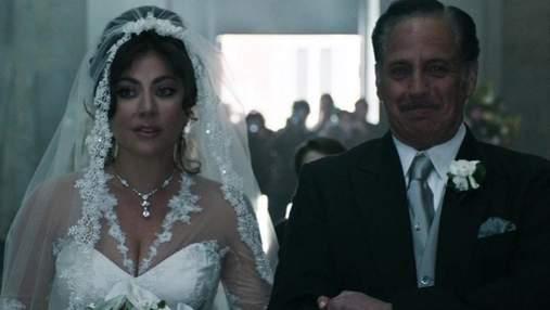 """Леді Гага в образі Патриції Реджані: з'явилися нові кадри з фільму """"Дім Ґуччі"""""""