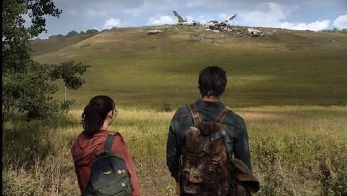Схоже на скриншот з гри: з'явився перший кадр з серіалу по грі The Last of Us з Еллі та Джоелом