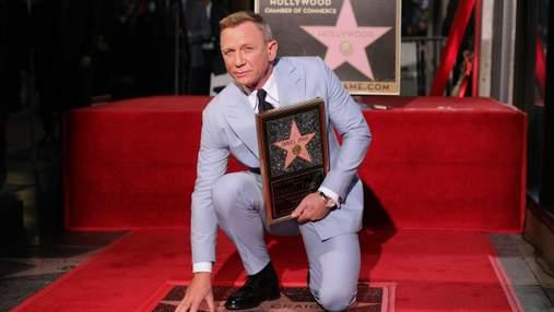"""Головний """"шпигун 007"""" Деніел Крейг отримав зірку на Алеї слави: промовисті фото"""
