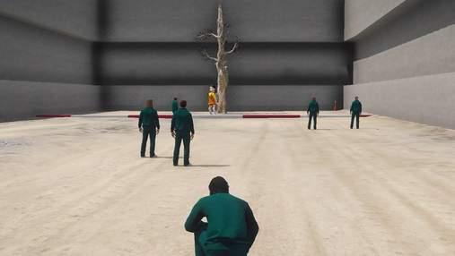 """""""Гра в кальмара"""" у GTA Online: ентузіасти відтворили смертельні випробування – кумедне відео"""