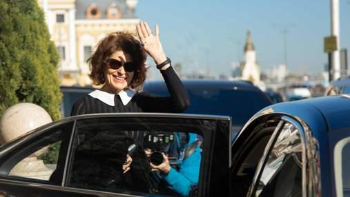 Звезда мирового кино Фанни Ардан открыла в Киеве SOTA CINEMA&THEATRE HUB