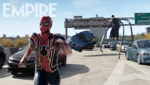 Одразу ж став мемом: свіжий кадр нового фільму про Людину-Павука розсмішив мережу